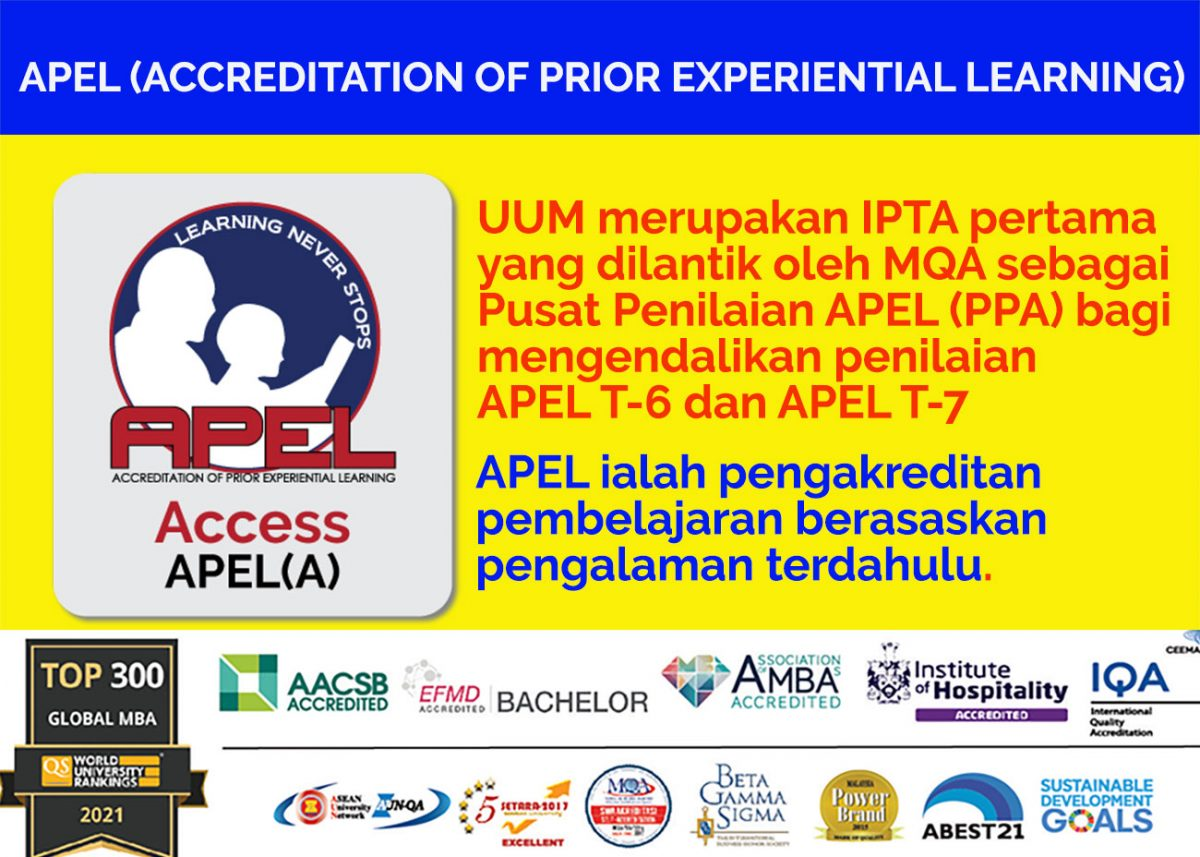 Accreditation of Prior Experiential Learning (APEL)